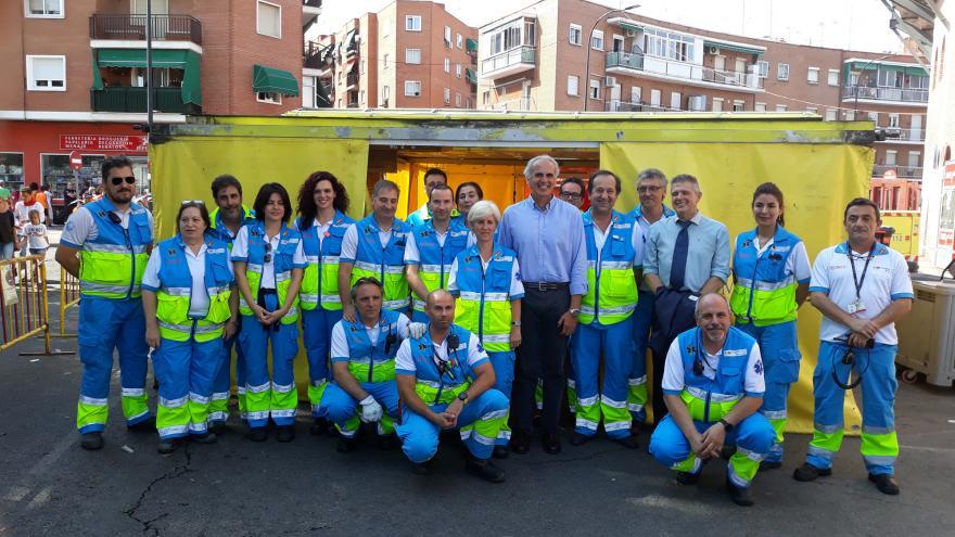 El SUMMA 112 acerca la atención sanitaria con Servicios Especiales a las fiestas patronales de los municipios