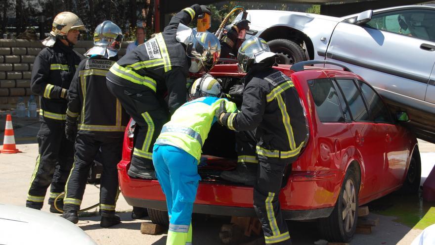 bombero conductor