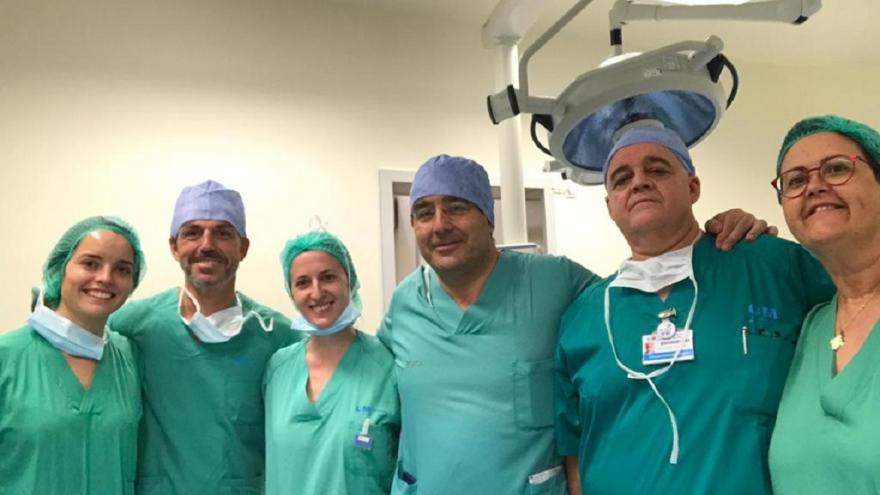 El equipo marcapasos del Hospital Infanta Sofía
