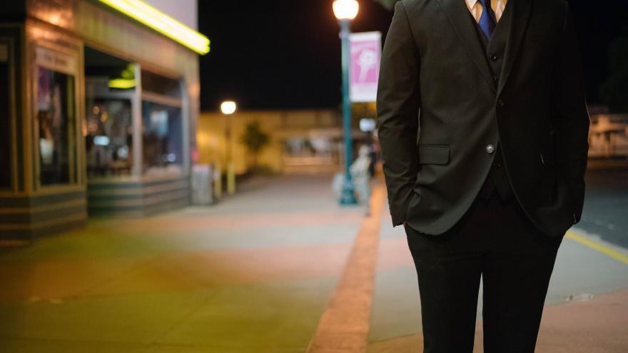 Hombre en la calle