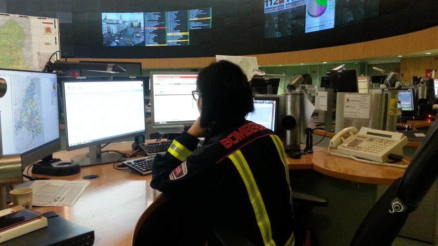 operador de bomberos