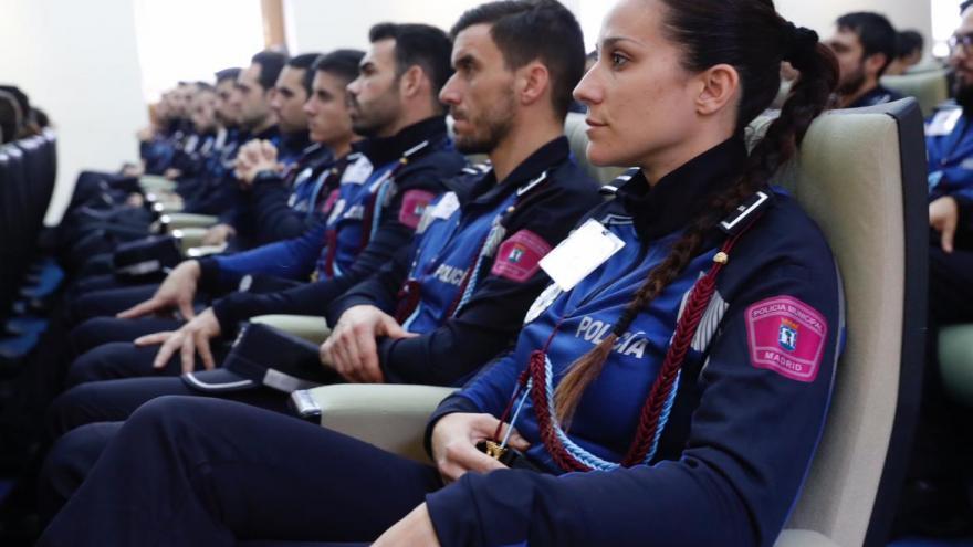 Imagen de la formación a policías locales de la región