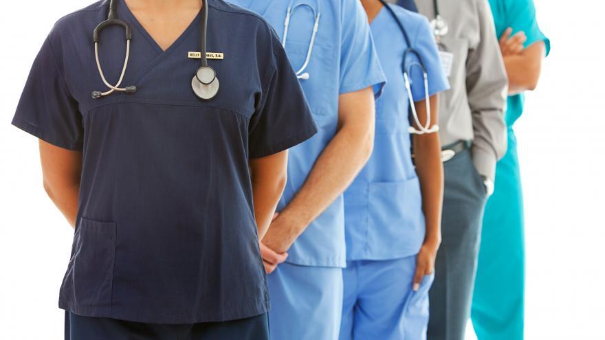 Grupo de profesionales sanitarios