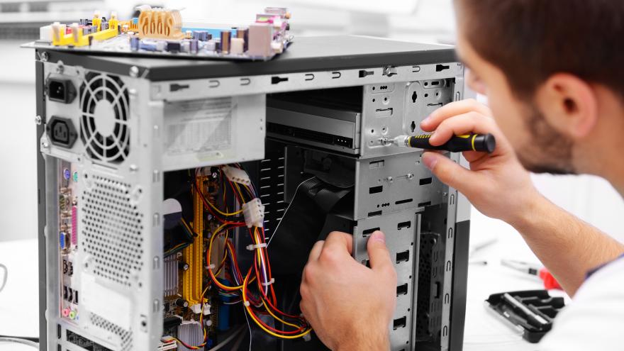 Reparando un ordenador