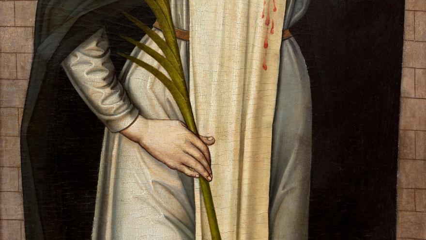 Pintura, San Pedro Mártir de Verona