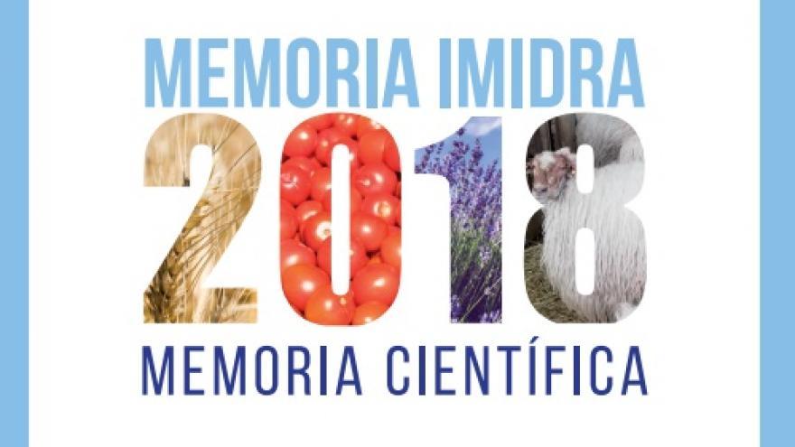 Memoria científica IMIDRA 2018
