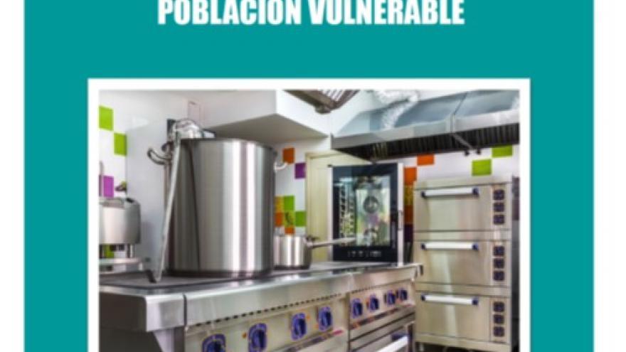 Portada de la publicación Directrices APPCC servicio de comidas a población vulnerable
