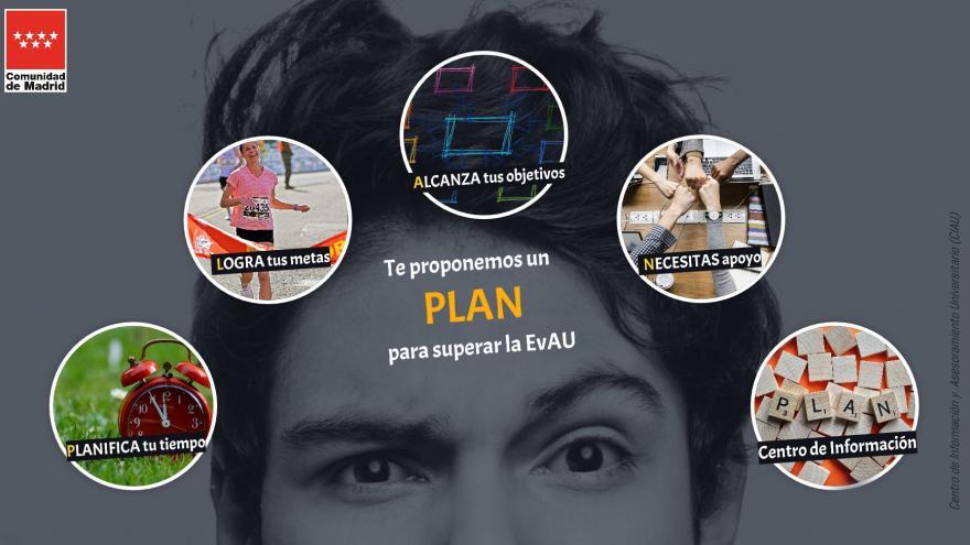 Te proponemos un PLAN para superar la EvAU