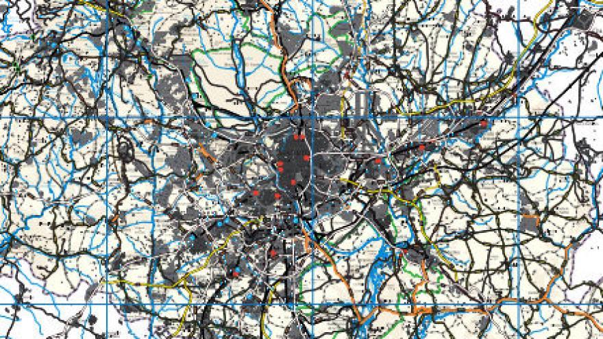 Mapa de carreteras