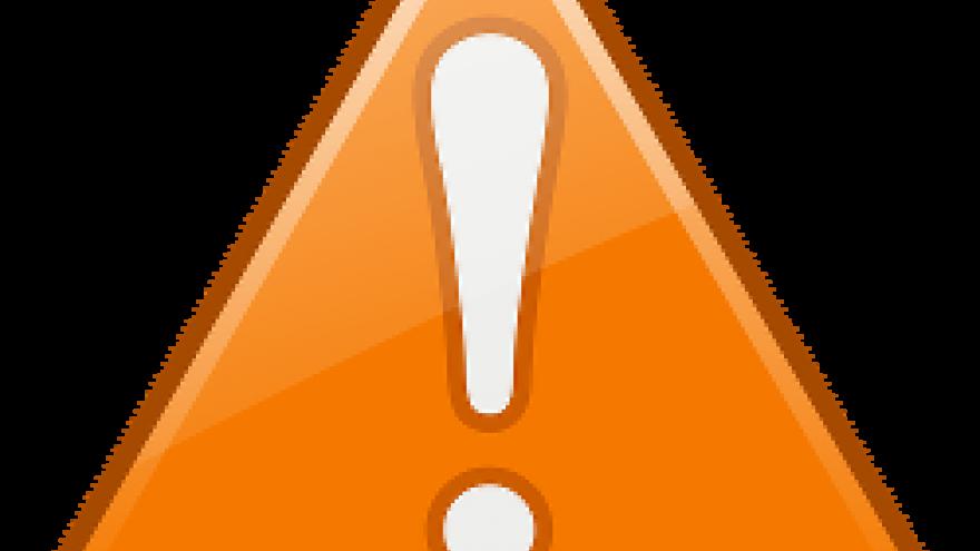 advertencia naranja