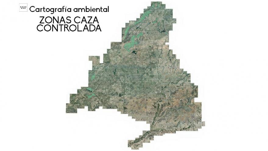 Cartografía zonas de caza controlada