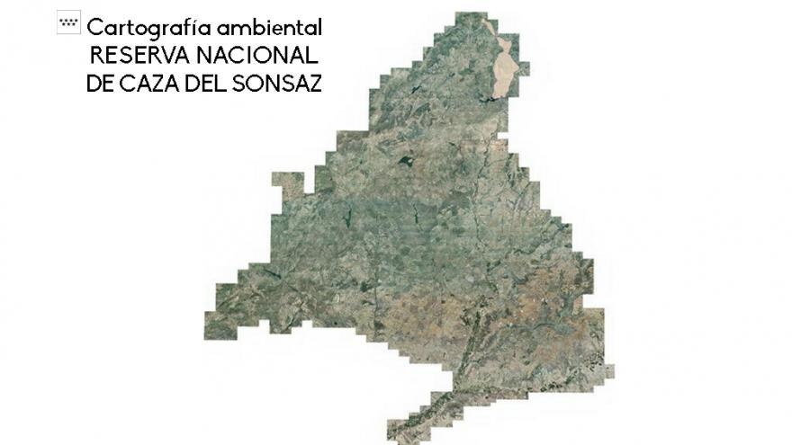 Cartografía Reserva Nacional de Caza del Sonsaz