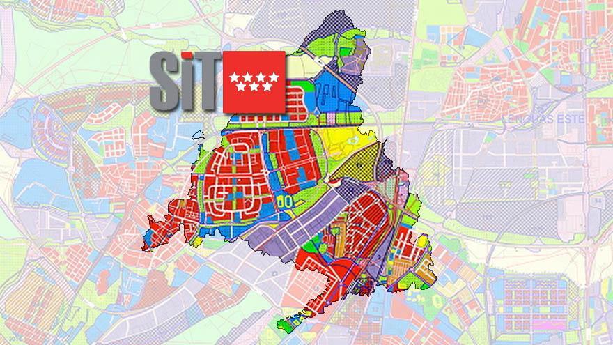 Planes urbanísticos. Mapas y documentos