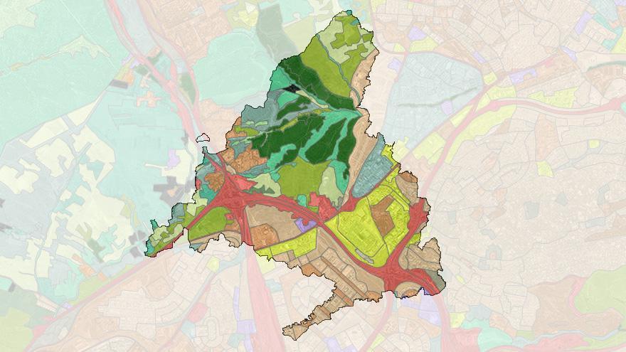 Mapas de ocupación del suelo
