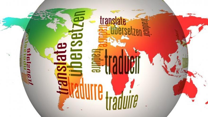bola mundo varios idiomas