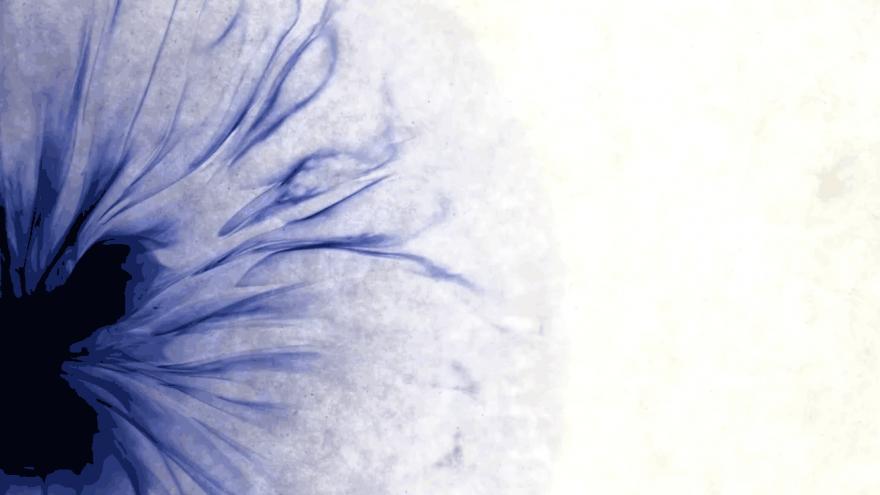 Fondo tinta azul