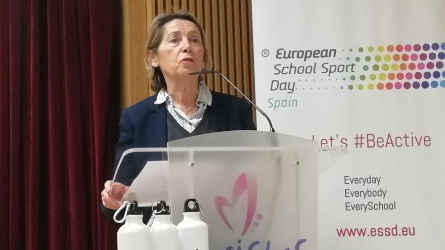 Presidenta del Consejo Escolar Premios Europeos del Deporte