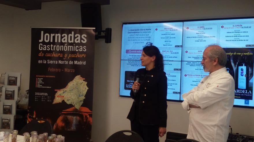 Inauguración Jornadas Gastronómicas Sierra Norte de Madrid
