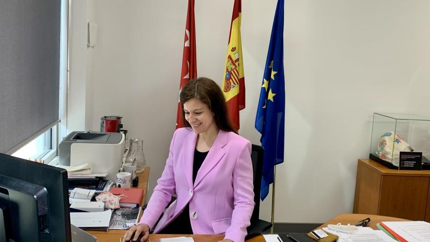 Marta Nieto, directora general de Comercio y Consumo