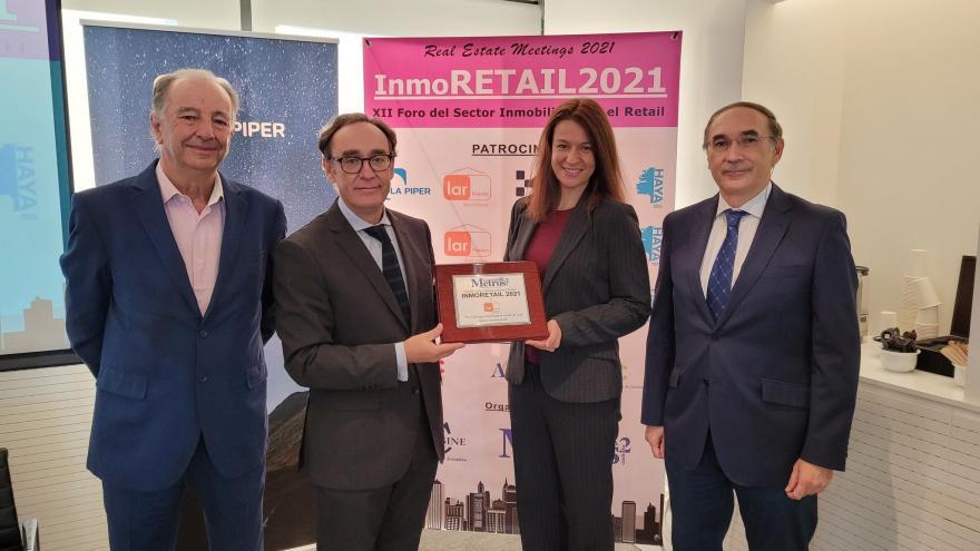 La directora general de Comercio y Consumo inaugura Inmoretail