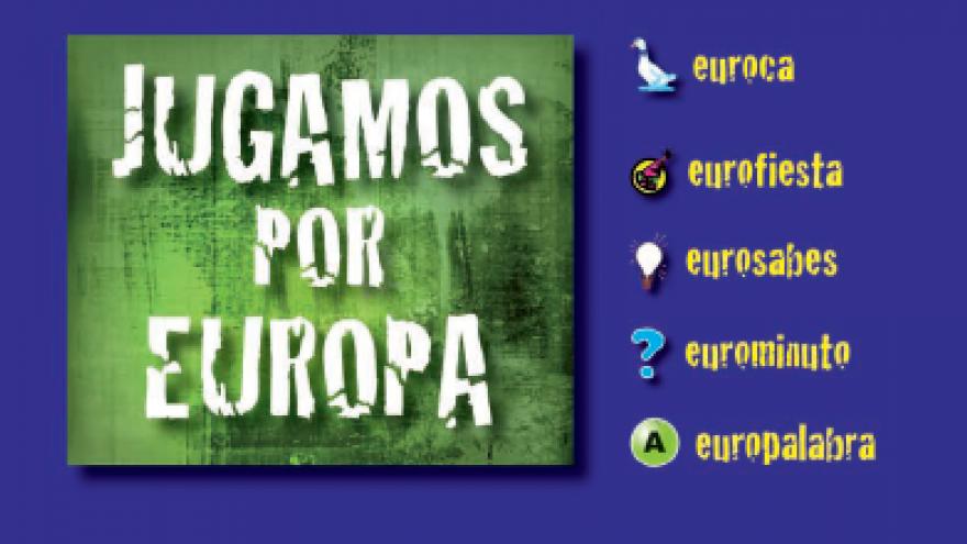 Juego de mesa Jugamos por Europa