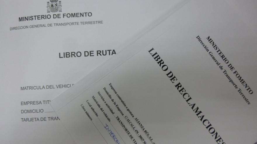 LIBROS RUTA Y RECLAMACIONES