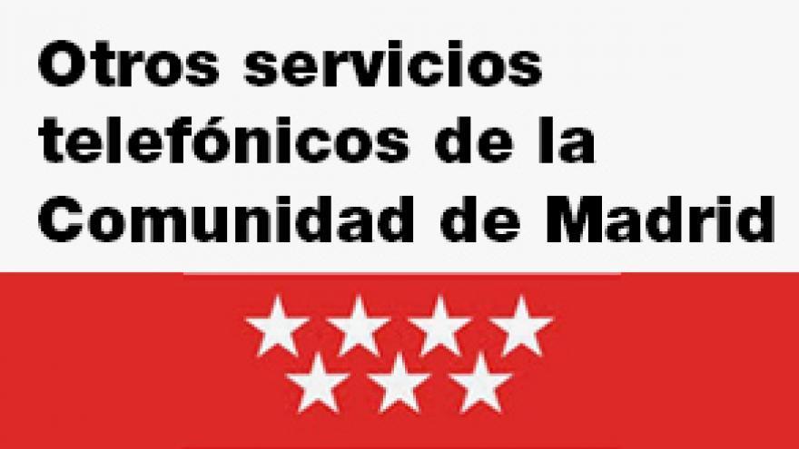 Imagen de otros teléfonos de la Comunidad de Madrid