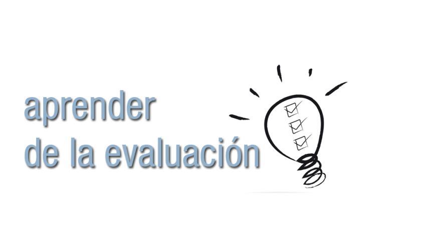 aprender de la evaluación