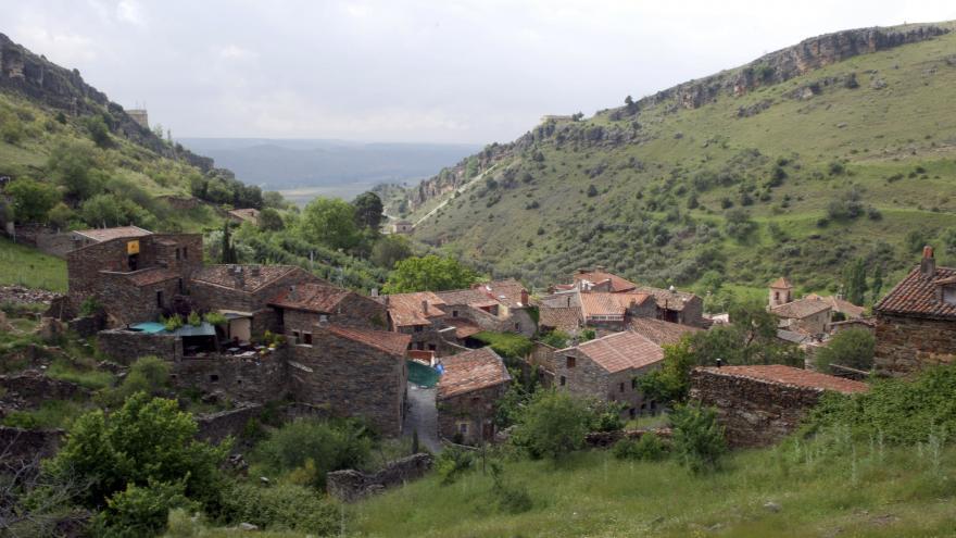 Conjunto Histórico de Patones de Arriba, en el municipio de Patones