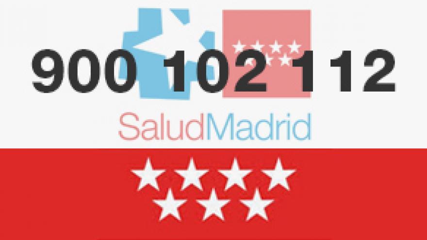 Imagen que muestra el teléfono gratuito Madrid Salud
