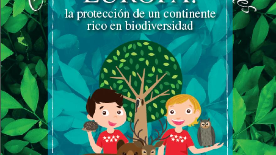 Cuaderno de actividades Europa: la protección de un continente rico en biodiversidad