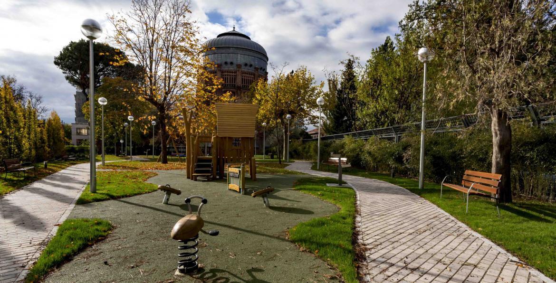 Madrid parques jardines y arbolado arquitectura urbanismo infraestructuras - Oficinas canal isabel ii madrid ...