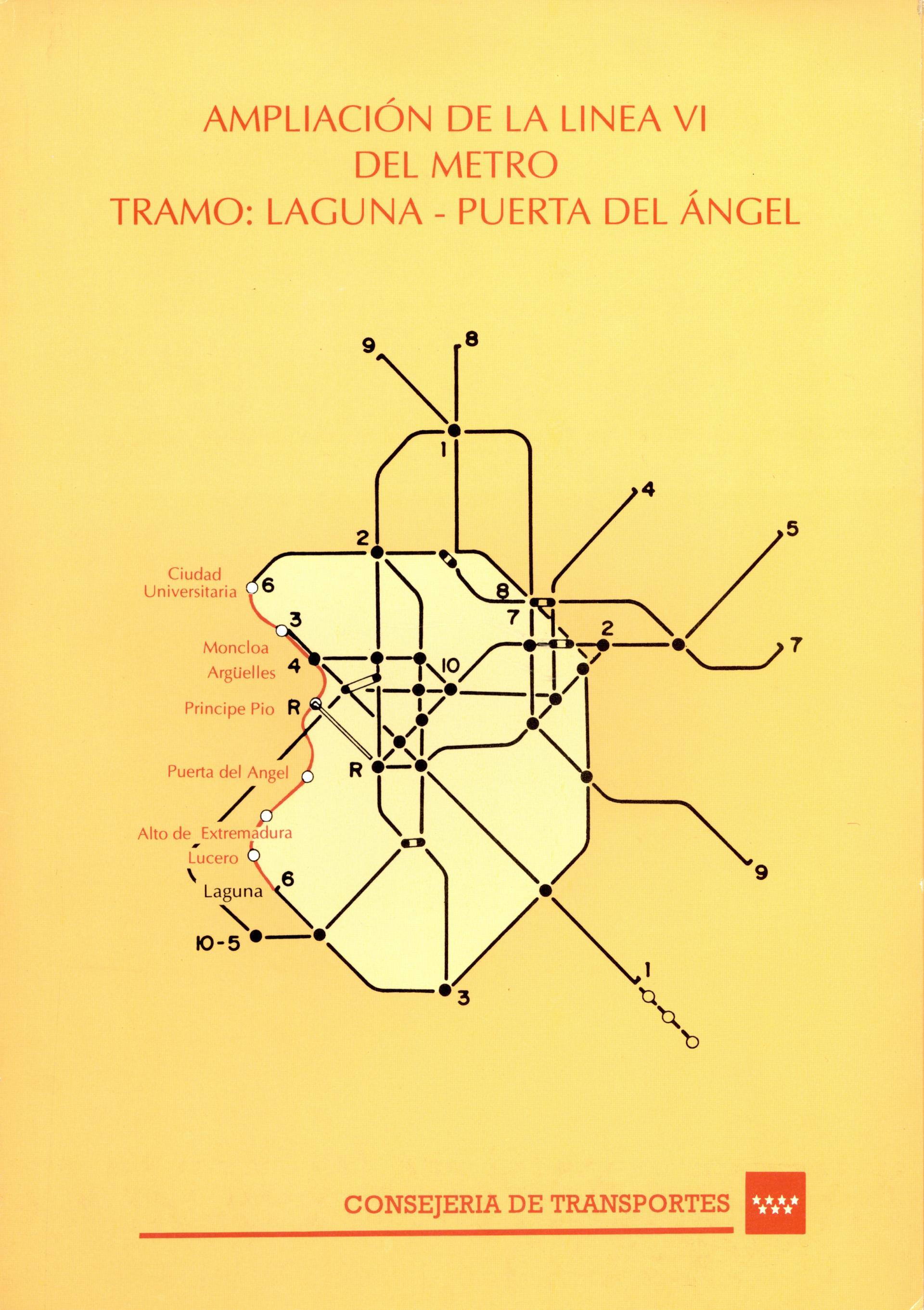 Carátula folleto L6 Laguna-Puerta del Angel