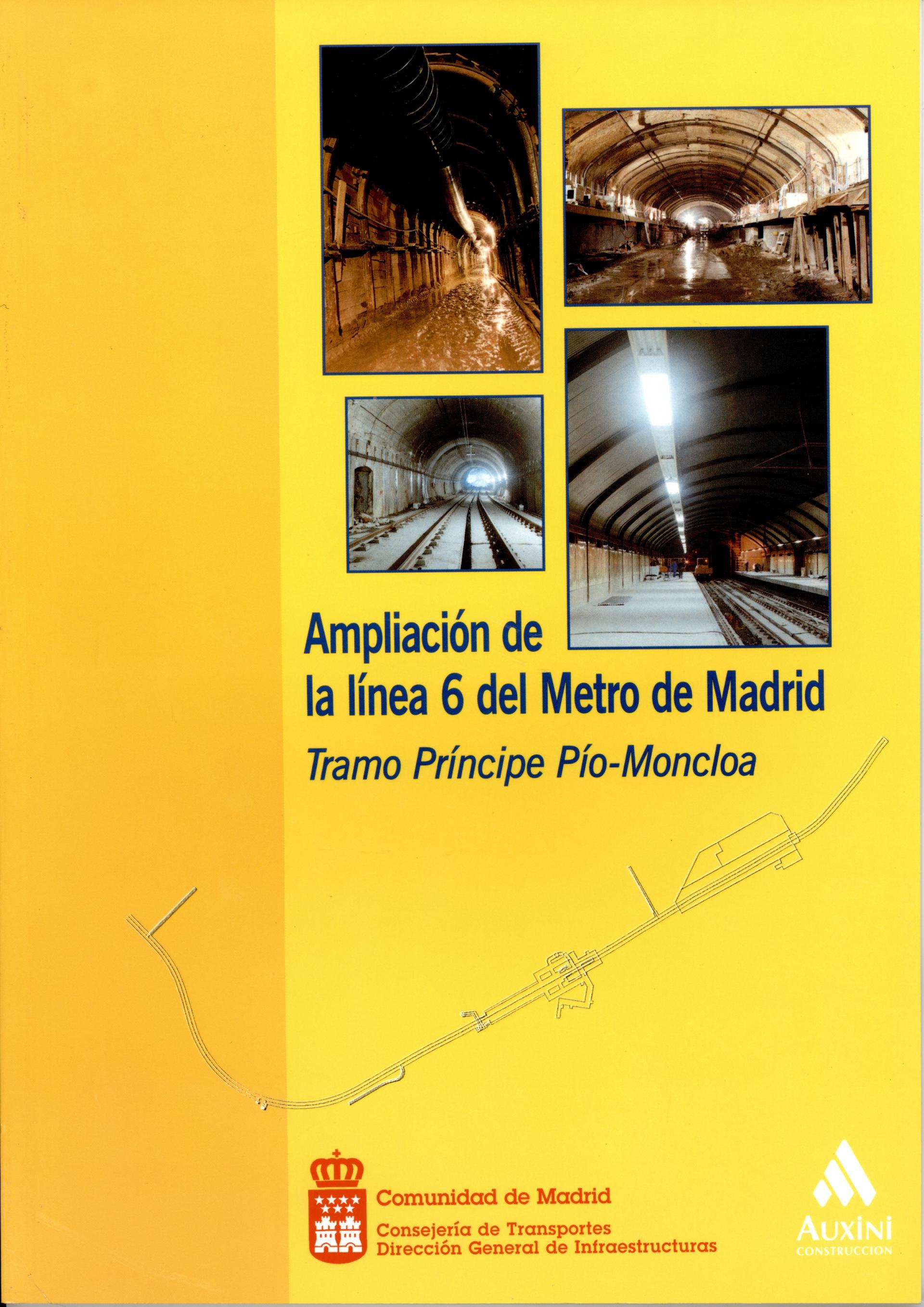 Carátula folleto L6 Príncipe Pío-Moncloa