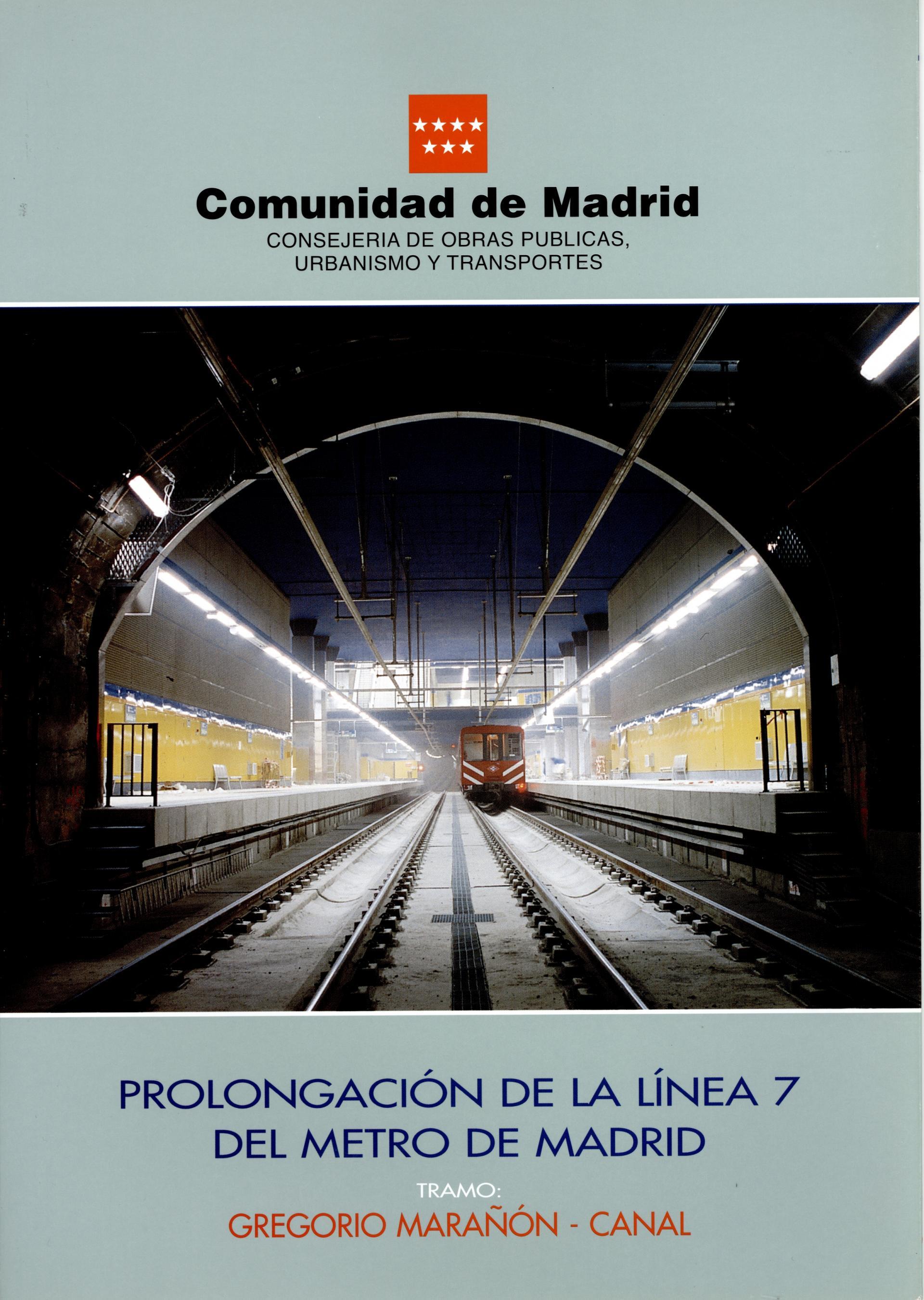 Carátula folleto L7 Gregorio Marañón-Canal