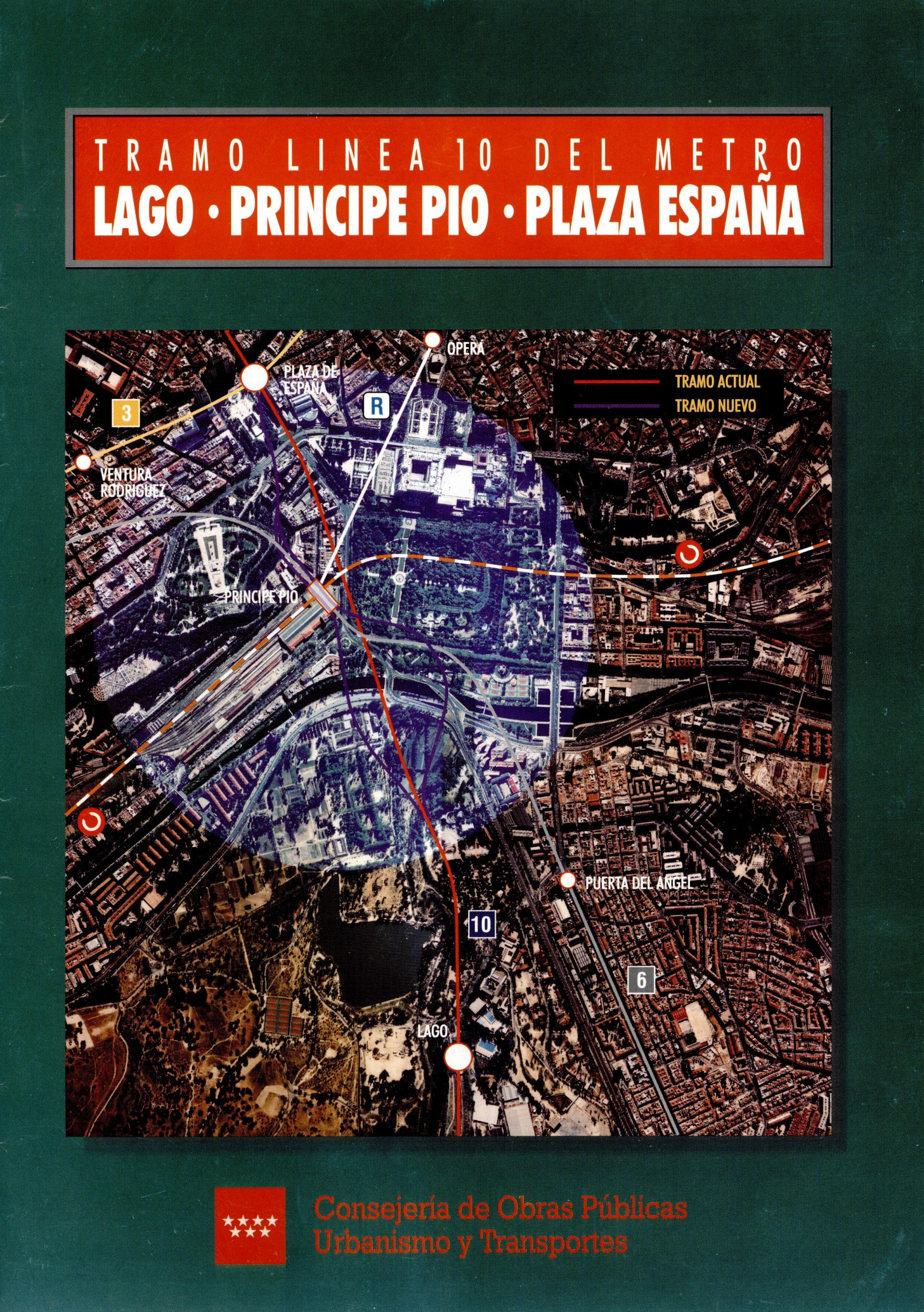Carátula folleto L10 Lago-P.Pío-Pza. España