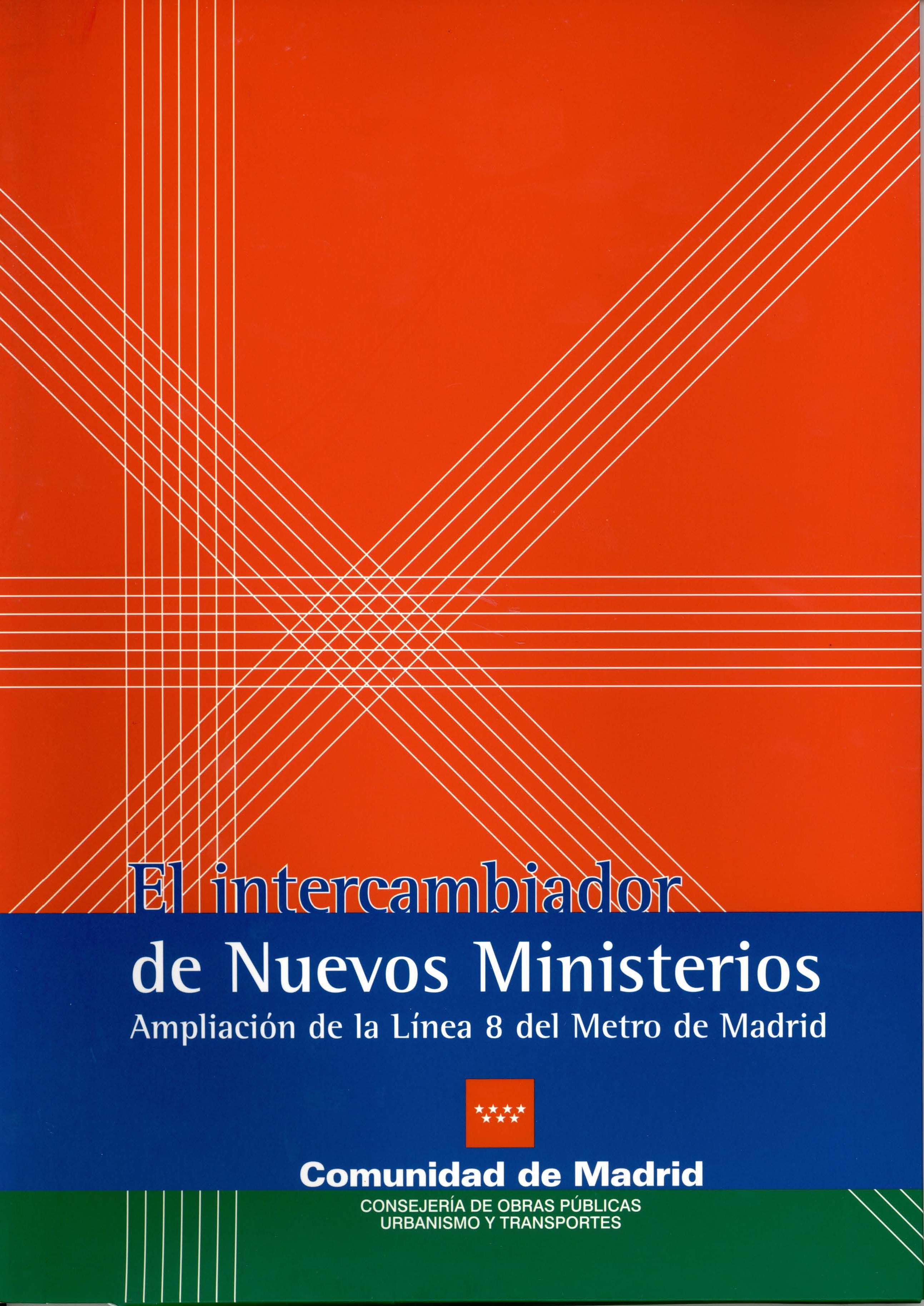 Carátula folleto L8 intercambiador Nuevos Ministrerios