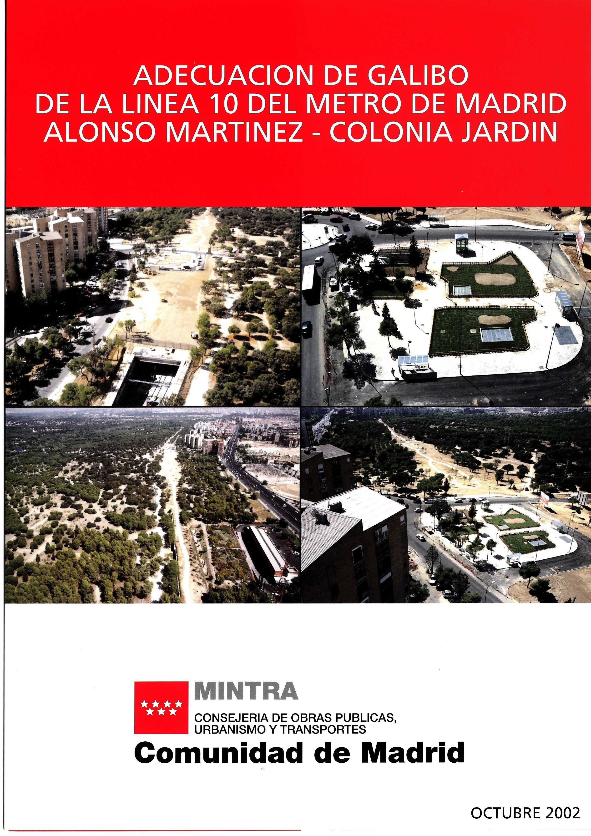 Carátula folleto adecuación gálibo L10