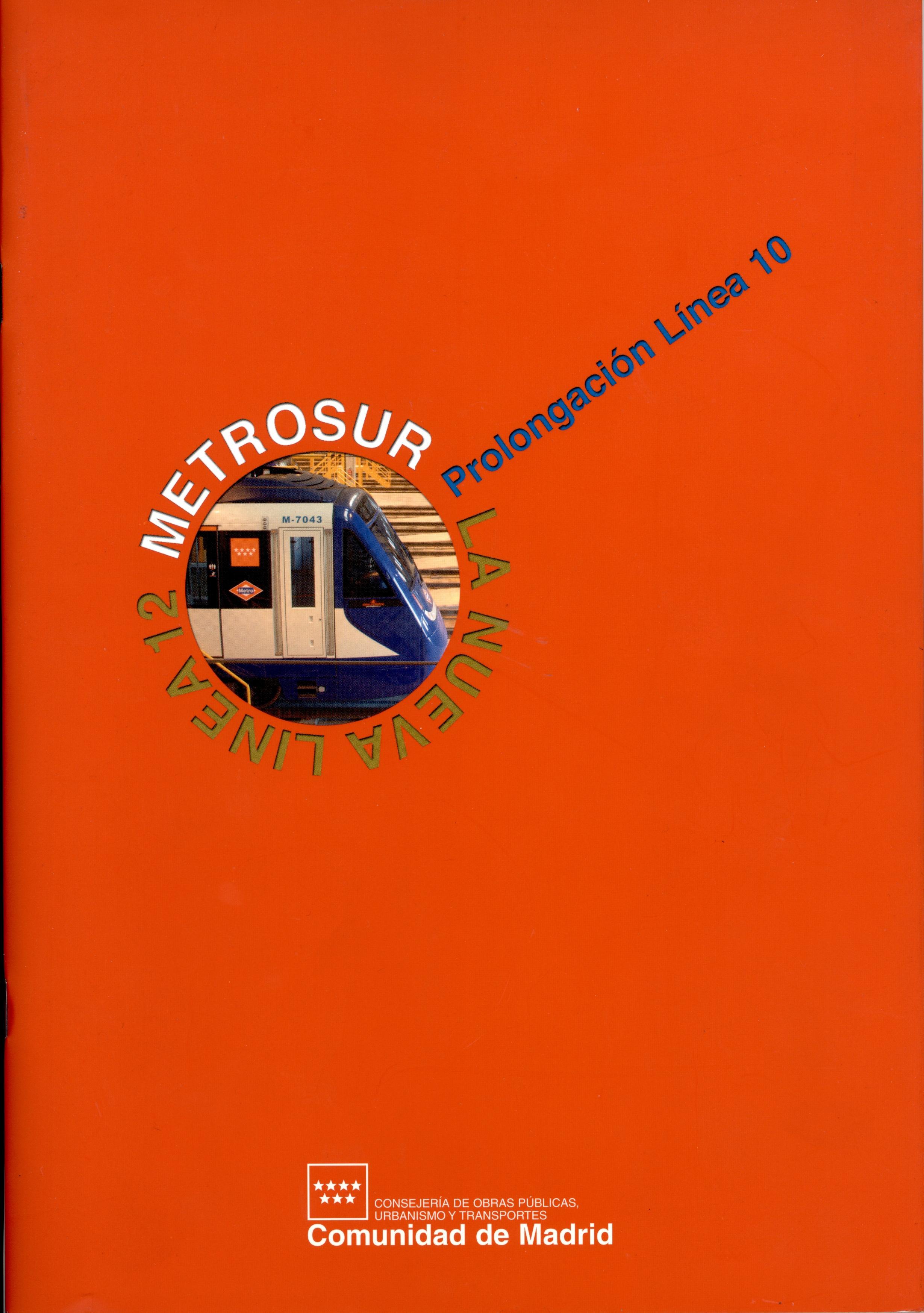 Carátula folleto la nueva línea 12