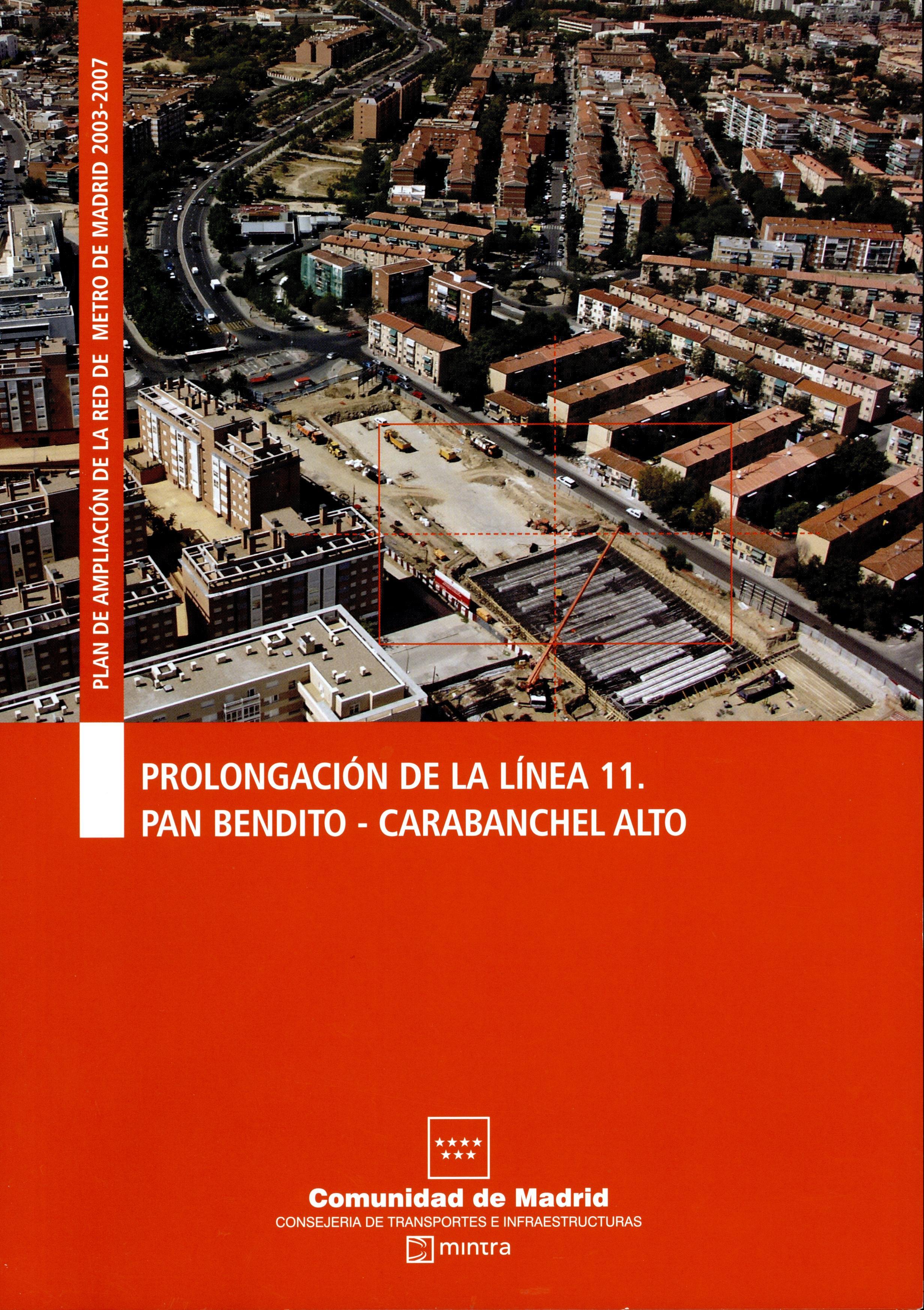 Carátula folleto L11 Pan Bendito-Carabanchel Alto