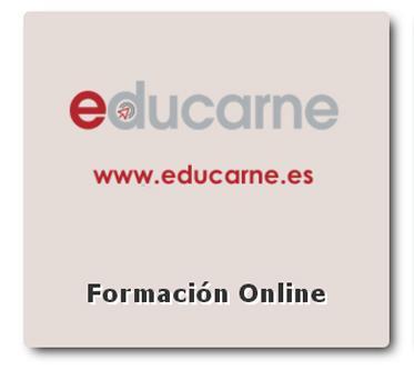 """Plataforma de formación """"on line"""" Educarne"""