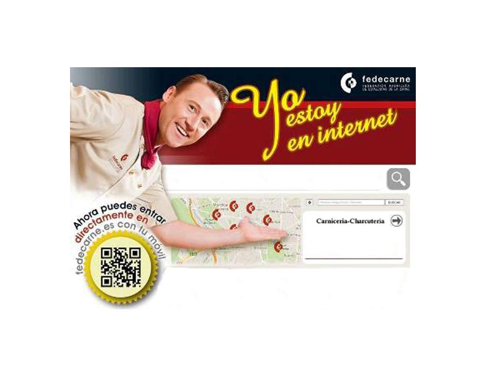 """Campaña del sector de las carnicerías y charcuterías """"yo estoy en internet"""""""