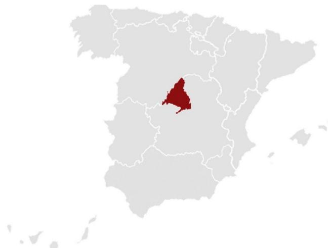 Mapa España Crecimiento PIB