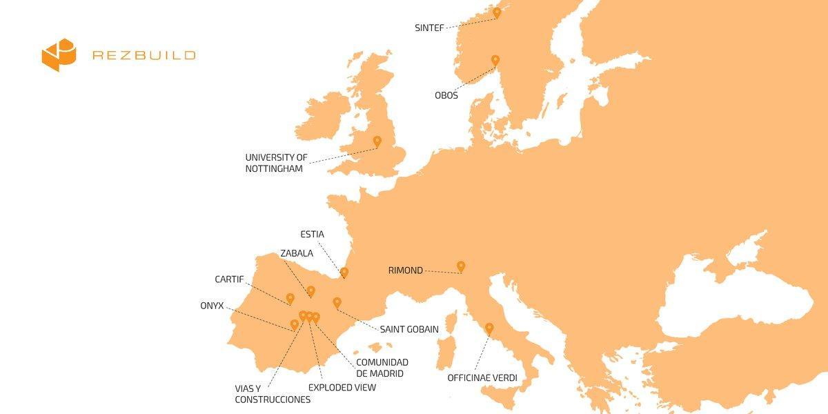 Imagen del mapa de europa