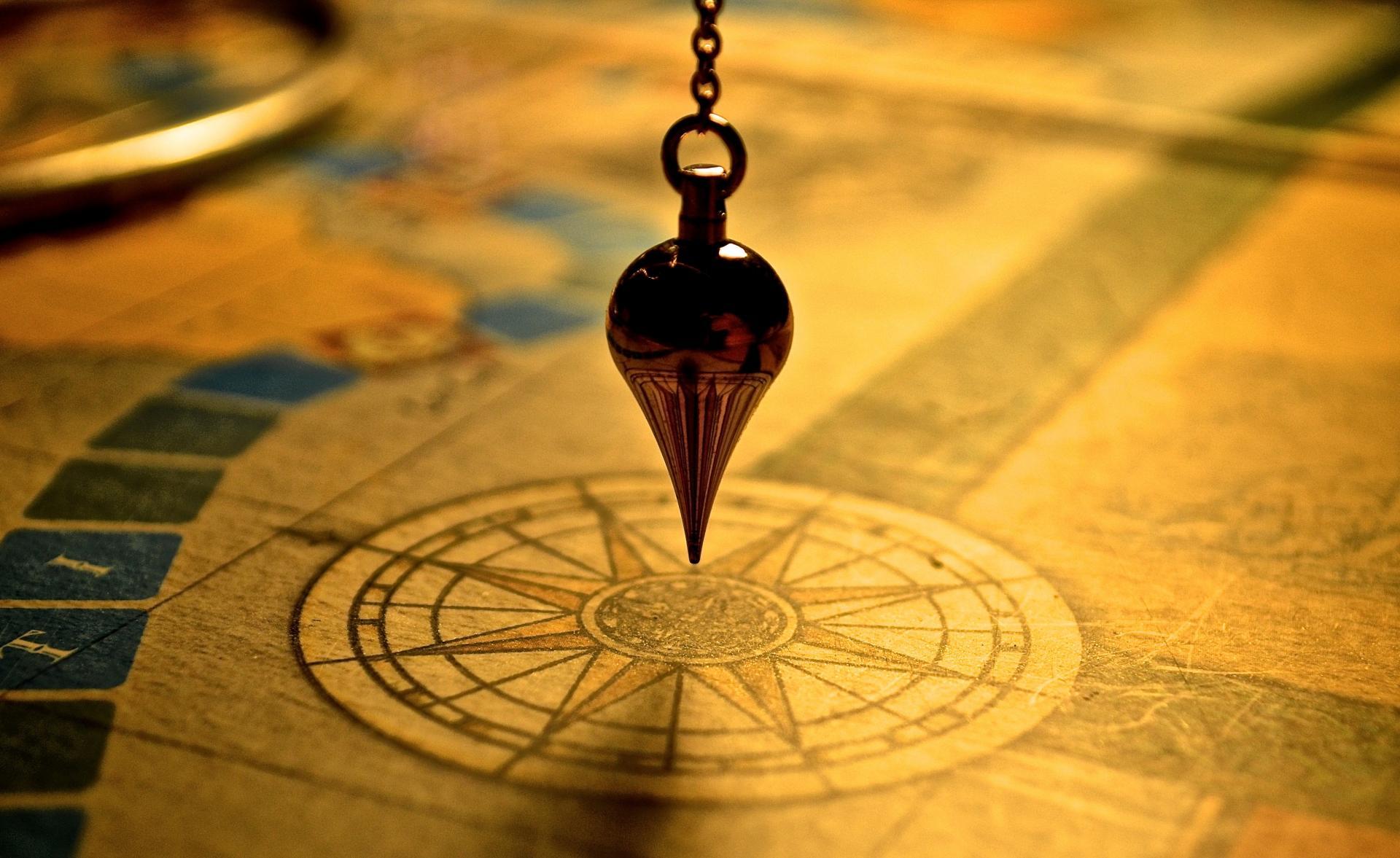 Péndulo sobre mapa