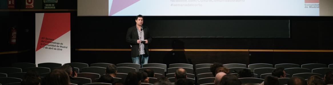 Imagen de presentación sesión Semana del Cortometraje 2019