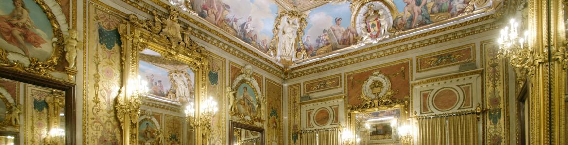 Salón de actos, palacio del Duque de Santoña