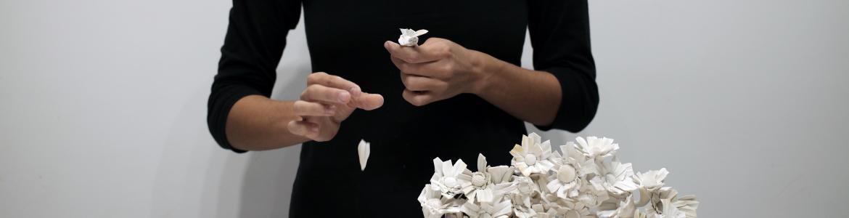 Noemí Iglesias. El oficio de las flores, 2017