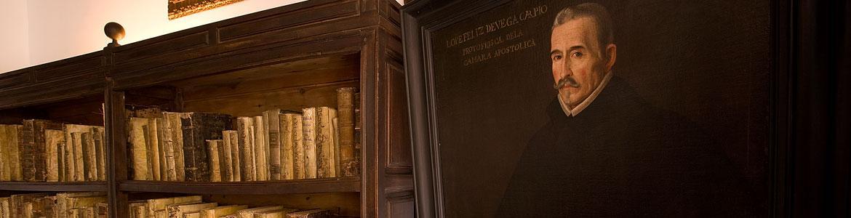 Retrato de Lope de Vega en su estudio