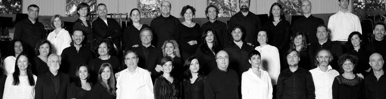 imagen de los integrantes del Coro de la Comunidad de Madrid